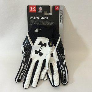 Under Armour Size Medium Spotlight Football Gloves